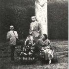 Wywoływanie duchów, ćledziejowice 1946, fot. H. Hermanowicz